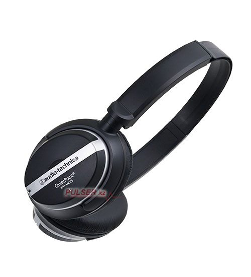 Headphone audio-technica ath-anc25, quietpoint 15db, 20ohm, 20-20000hz, 100db, 1aaa, pouch, black