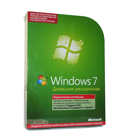 Windows 7 Домашняя Базовая Лицензия