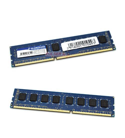 DDR3 2048Mb PC10600, 1333MHz, Silicon Power купить в Тольятти.